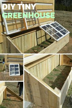 DIY Tiny Greenhouse