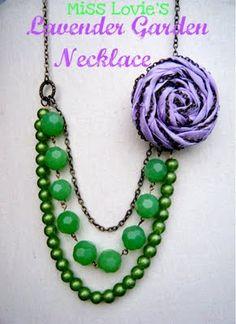 Chain Rosette Necklace Tutorial
