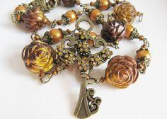 Key necklace, by romanticcrafts, $23.00