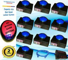 quattro buzzer system for family fortunes also quiz buzzer