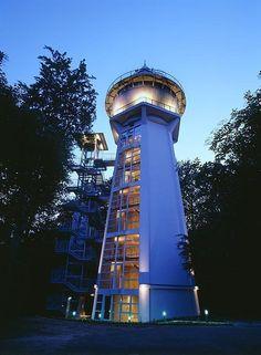 Water Tower in Essen-Bredeney, Germany