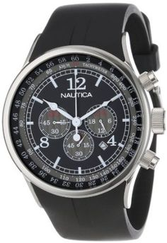 Amazon.com  Nautica Men s N13530G NSR 01 Stainless Steel Watch  Nautica   Watches a57d7ceb96a