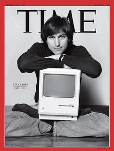 Steve Jobs en couverture de Time 21