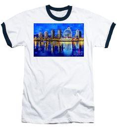 Baseball T-Shirt - Vancouver British Columbia Canada