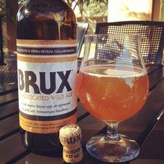 Russian River/Sierra Nevada Collaboration: Brux Domesticated Wild Ale - 8.3% abv