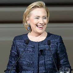 Former Secretary of State Hillary Clinton was named the most fascinating person of 2013 by Barbara Walters. Over the years, Hillary has had plenty of inspiring Hillary Clinton Quotes, Hillary Rodham Clinton, Blue Wedding, Wedding Band, Barbara Walters, Madam President, Inspiring Women, Human Rights, Royals
