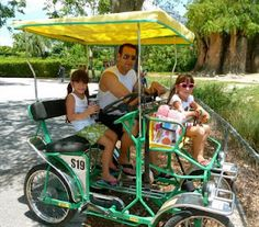 A safari cycle??? whoa... this could totally place golf carts here on the beach & it is green!!!! :)