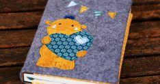 von Lange Hand: Hüllen für Bücher, Mutterpässe, Kalender nähen