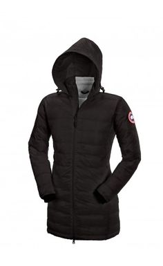 Canada Goose Camp Hooded Jacket Black Women #canadagoose #womenjackets #jackets