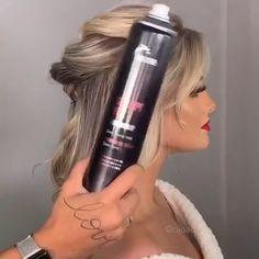 Low Bun Hairstyles, Step By Step Hairstyles, Wedding Updo, Diy Tutorial, Updos, Hair Accessories, Exercise, Hair Styles, Makeup
