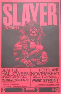 SLAYER, Overkill