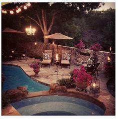 I love my backyard.