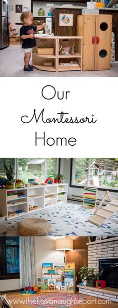 A look at spaces in our Montessori home and the answers to some frequently asked questions. A look at spaces in our Montessori home and the answers to some frequently asked questions. Montessori Toddler Rooms, Montessori Playroom, Toddler Playroom, Montessori Homeschool, Montessori Activities, Baby Activities, Baby Games, Preschool Curriculum, Toddler Toys