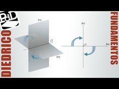 ▶ Sistema Diédrico: fundamentos y elementos. - YouTube