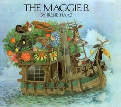love this children's book about a girl who imagines herself on a ship for a day.