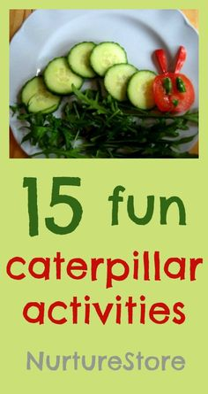 Fantastic ideas for The Very Hungry Caterpillar activities, games and crafts