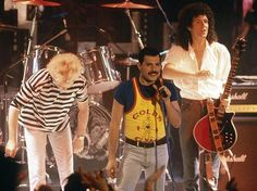 Queen-Roger, Freddie, Brian and John (not in the picture)
