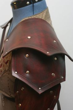 Made to OrderPair Of Leather Pauldrons
