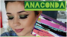 """Deep Green Smokey Eye Makeup Tutorial using the color """"Anaconda"""" from the new Artist Palette by Anastasia Beverly Hills"""