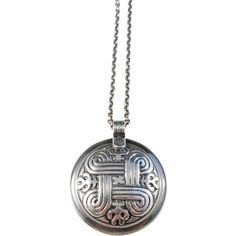 Kalevala Koru, Finland 1987 Sterling Silver Pendant Necklace. Finland, Pocket Watch, Jewelry Necklaces, Product Description, Pendant Necklace, Sterling Silver, Chain, Accessories, Necklaces