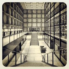 Gordon Bunshaft BEINECKE RARE BOOK AND MANUSCRIPT LIBRARY