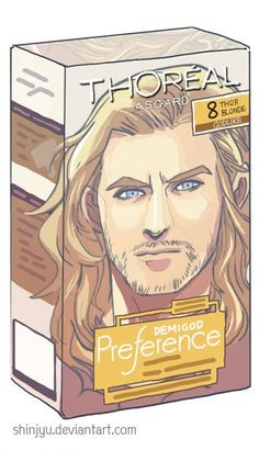 I need Thor's hair product but.....does he even use product? Maybe it's just that Asgardian genes