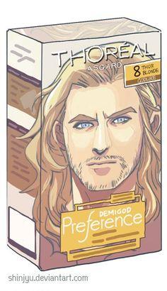 ThOréal Asgard