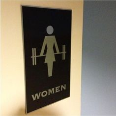Best women's locker room sign, ever! - Tap the pin if you love super heroes too! Cause guess what? you will LOVE these super hero fitness shirts! Fitness Design, Gym Design, Design Ideas, Crossfit Inspiration, Fitness Inspiration, Gym Interior, Gym Lockers, Metal Lockers, Crossfit Gym