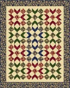Winterly Wonderful Free Quilt Pattern by Marcus Fabrics