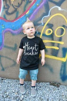 Heart Breaker tee – Our 5 Loves