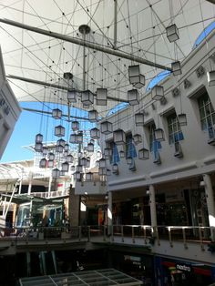 Westfield Warringah Mall, new catenary lighting structure | Tensile Design & Construct