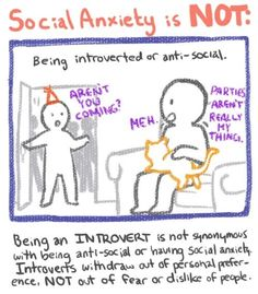 Social Anxiety and Depression on Pinterest | Social ...