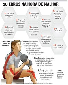 10 erros na hora de malhar | JORNAL O TEMPO