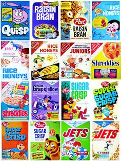 Vintage Cereal Collection - The Dieline