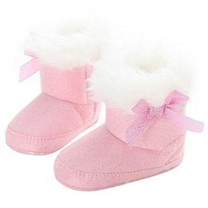 Warm Winter Baby Shoes Infants Boots Fur Bowknot Cloth Booties for Toddler Boy Girls First Walkers Shoes for Newborn Cheap Toddler Shoes, Baby Girl Shoes, Girls Shoes, Baby In Snow, Walker Shoes, First Walkers, Baby Warmer, Winter Snow Boots, Baby Girl Newborn