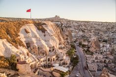 Goreme is a great base for exploring Cappadocia, Turkey.