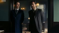 Assistant Commissioner Augustus Dove & Detective Inspector Bennet Drake in Ripper Street S4