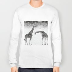 Giraffe patterns for wallpaper Long Sleeve T-shirt