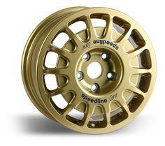 Cast aluminium alloy, gravel rally wheel, wheel type 2128, Speedline Corse
