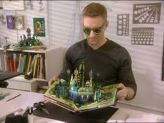 Martha Stewart takes a look at pop-up book author Robert Sabuda and his personal approach to creating images that literally come out at the reader.