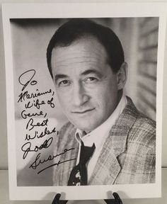 """TODD SUSMAN ( Newhart ) Signed THE MUNY in """"SOUTH PACIFIC"""" 8X10 B&W Photograph in Entertainment Memorabilia, Autographs-Original, Television   eBay"""