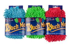 Neat Ideas 'Touch Me' - so soft, you'll just want to touch it! This double-sided chenille mitt is perfect for using wet or dry for cleaning, dusting and polishing, indoors and out.  Machine washable.  £3.00. www.neatideasdirect.co.uk