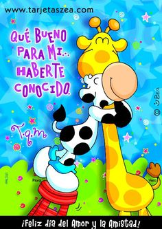 Flora y Vera© ZEA www.tarjetaszea.com Grateful Quotes, Kids Watercolor, Good Morning Good Night, Girly Pictures, Binder Covers, Always Love You, Cute Images, Love Cards, Special Day