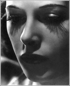 Hedy Lamarr, 1940, by Clarence Sinclair Bull. Love the lashes.