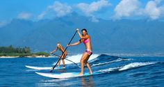 Chicks with SUP Sticks: Cross Fit All in One Board