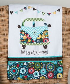 Look what I found on #zulily! 'Joy in the Journey' Tea Towel #zulilyfinds