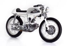 Honda custom (Cub?)