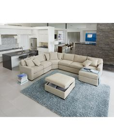 New Living Room Furniture Layout Sectional Ottomans Ideas Living Room Furniture Collections, Trendy Living Rooms, Livingroom Layout, Sofa Design, Living Room Designs, Living Room Sets Furniture, Living Room Sectional, Sectional Sofas Living Room, Living Room Sofa Design