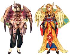 ADOPTABLE SET 13: MYSTIC TALES OF THE ORIENT |OPEN by CARPFISH.deviantart.com on @deviantART