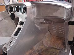 Sweet fabrication, love the louvers under the dash
